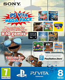 PlayStation Vita Kids MEGA Pack with 8GB Memory Card PS-Vita