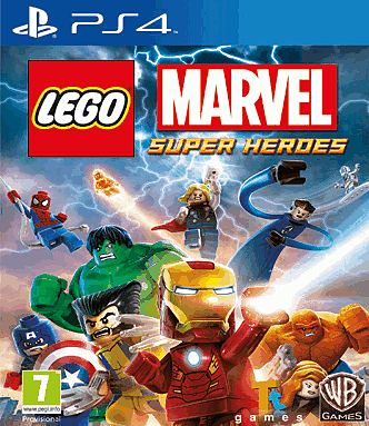 LEGO MArvel Super Heroes on PlayStation 4 at GAME