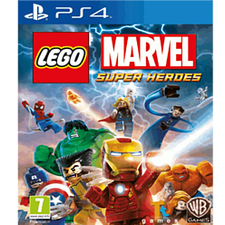 LEGO Marvel Super Heroes PlayStation 4 Cover Art