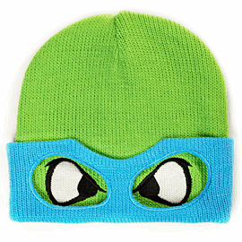 Teenage Mutant Ninja Turtles Beanie Hat - Leonardo Clothing and Merchandise