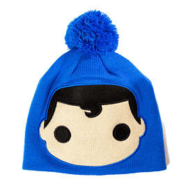DC POP Heroes Beanie Hat - Superman Clothing and Merchandise