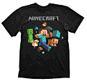 Minecraft T-Shirt - Run Away - Size S Clothing and Merchandise
