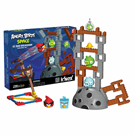 K'NEX: Angry Birds Space 'Ice Bird Breakdown' Toys and Gadgets