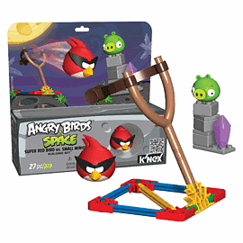K'NEX: Angry Birds Space Super Red Bird Vs Small Minion Pig Toys and Gadgets