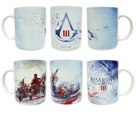 Assassin's Creed 3 Mug Twin Pack (Character and Logo) Toys and Gadgets
