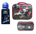 Super Mario Lunch Bag, Drinks Bottle and Pencil Case Clothing and Merchandise
