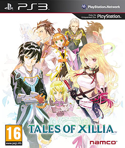 Tales of Xillia PlayStation 3 Cover Art