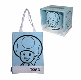 Super Mario Shopper Bag and Mug - Toad Clothing and Merchandise