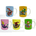 Officially Licensed Super Mario 5 Mug Pack - Mario Kart Clothing and Merchandise
