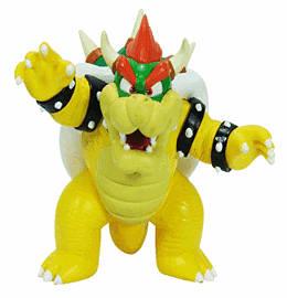 Super Mario Bros Bowser 10cm Figure Toys and Gadgets