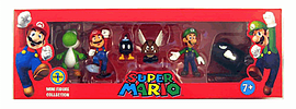 Super Mario Bros Mini Figures Box Set: Series 1 Toys and Gadgets