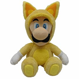 Sanei Super Mario Bros Plush - Fox Luigi (33cm) Toys and Gadgets