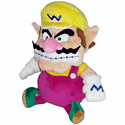 Sanei Super Mario Bros Plush - Wario (24cm) Toys and Gadgets