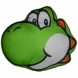 Sanei Super Mario Bros Plush Cushion - Yoshi (34cm) Toys and Gadgets