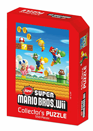 "Super Mario Jigsaw Puzzle: Mario Bros Wii (18"" x 24"") Toys and Gadgets"