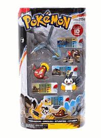 Pokemon: 4 Figure Gift Pack - Kyurem/Terrakion/Stunfisk/Emolga Toys and Gadgets