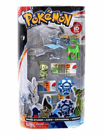Pokemon: 4 Figure Gift Pack - White Kyurem/Virizion/Cryogonal/Axew Toys and Gadgets