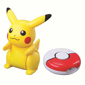 Pokemon: Pikachu Remote Controlled Training Figure (12cm) Toys and Gadgets