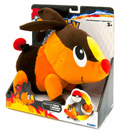 Pokemon: Transforming Poke Ball Plush - Tepig (20cm) Toys and Gadgets
