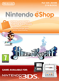 HarmoKnight Nintendo 3DS Cover Art