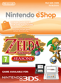 The Legend of Zelda: Oracle of Seasons Nintendo 3DS Cover Art