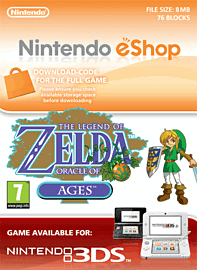 The Legend of Zelda: Oracle of Ages Nintendo 3DS Cover Art
