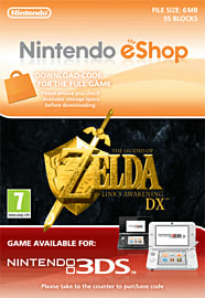 The Legend of Zelda: Link's Awakening DX Nintendo 3DS Cover Art