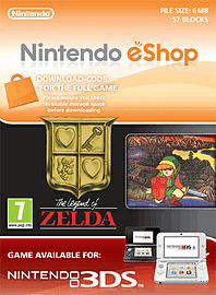 The Legend of Zelda Nintendo 3DS Cover Art