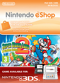 Super Mario Land 2: 6 Golden Coins Nintendo 3DS Cover Art