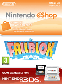 Fallblox Nintendo 3DS Cover Art