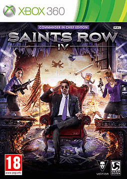Saints Row IV Commander in Chief Special Edition Xbox 360 Cover Art