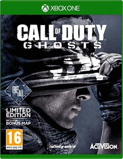 Call of Duty: Ghosts GAME Exclusive Freefall Edition Xbox One Cover Art