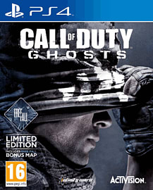 Call of Duty: Ghosts GAME Exclusive Freefall Edition PlayStation 4 Cover Art