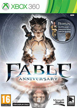 Fable: Anniversary Xbox 360 Cover Art