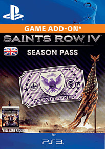 Saints Row IV Season Pass PlayStation Network
