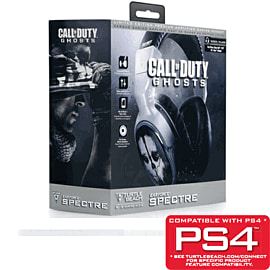Turtle Beach Call of Duty: Ghosts Spectre Limited Edition Headset - Only at GAME Accessories Cover Art