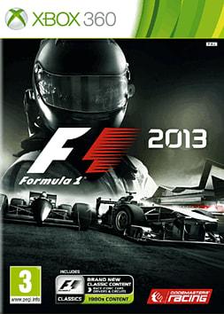F1 2013 Xbox 360 Cover Art