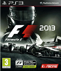 F1 2013 PlayStation 3 Cover Art