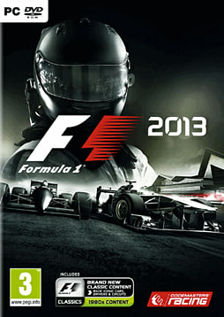 F1 2013 PC Games Cover Art