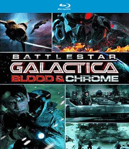 Battlestar Galactica: Blood & Chrome Blu-Ray