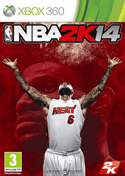 NBA 2k14 Xbox 360 Cover Art