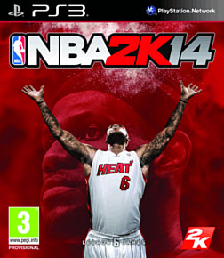 NBA 2K14 PlayStation 3 Cover Art