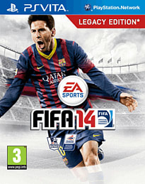FIFA 14 PS Vita Cover Art