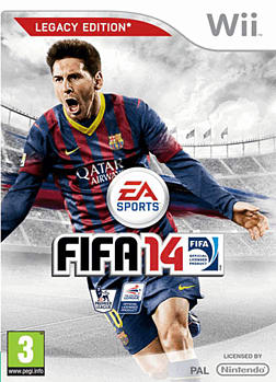 FIFA 14 Wii Cover Art