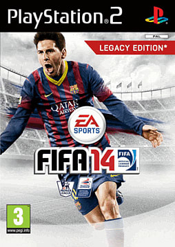 FIFA 14 PlayStation 2 Cover Art