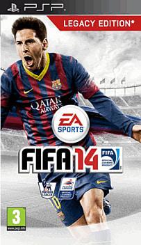 FIFA 14 PSP Cover Art