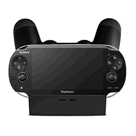 GAMEware Dual Controller Charger for PlayStation 4 and PS Vita Accessories