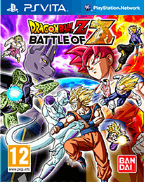 Dragon Ball Z: Battle of Z - Day 1 Edition PS Vita Cover Art