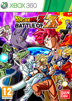 Dragon Ball Z: Battle of Z - Day 1 Edition Xbox 360 Cover Art
