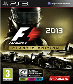 F1 2013 Classic Edition PlayStation 3 Cover Art